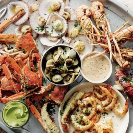 Raw bar, seafood, crab legs, lobster tail, shrimp cocktail, oysters, louisville, downtown louisville